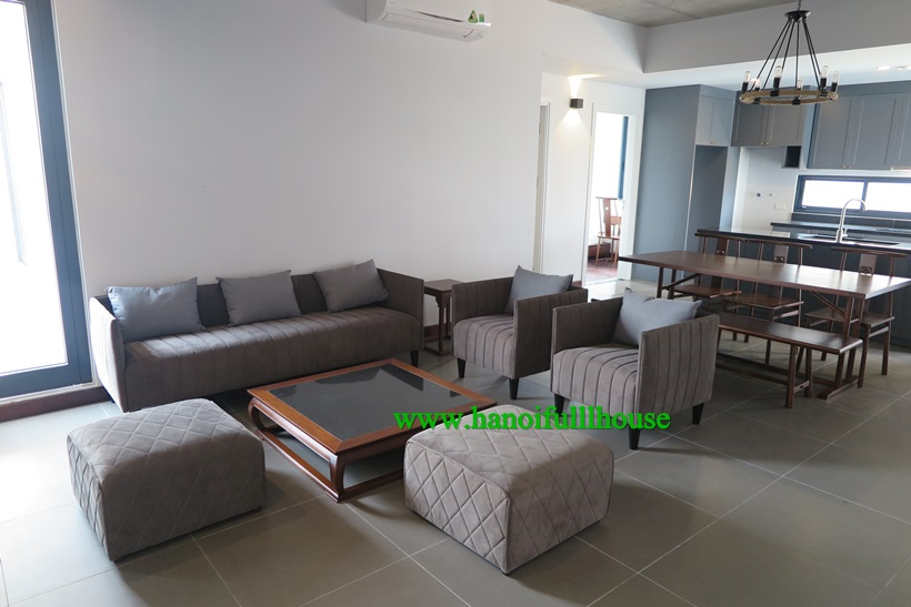pretty charming apartment 2 bedrooms,bright,nice and big balcony in Au Co