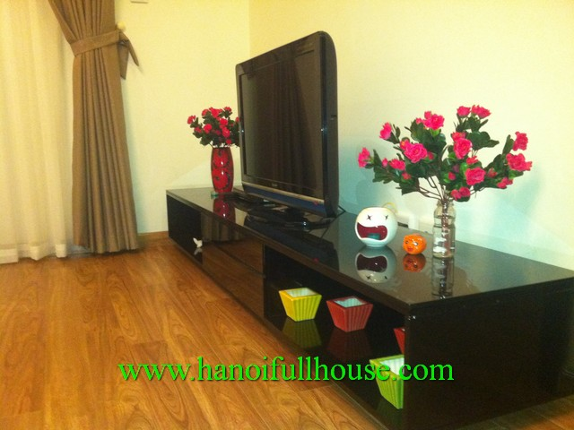 Fully furnished apartment in Times City Ha Noi for rent