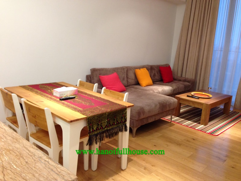 Fully furnished apartment for rent at Indochina Plaza, Cau Giay District, Ha Noi.