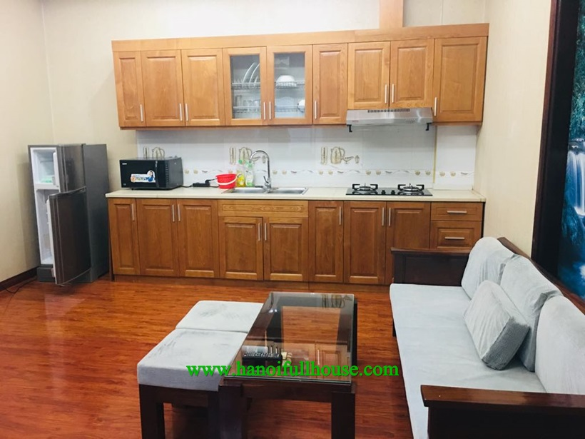 Ba Dinh housing to rent one bedroom apartment with full of light