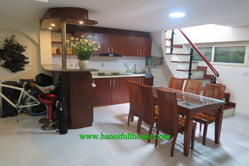 Duplex one bedroom apartment for rent near Japanese Embassy