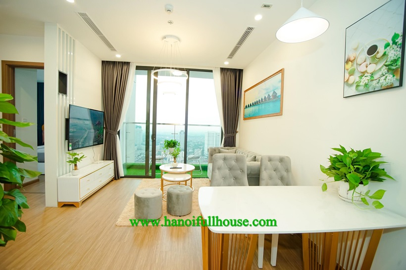 For rent beautiful apartment with nice view in Vinhomes Skylake