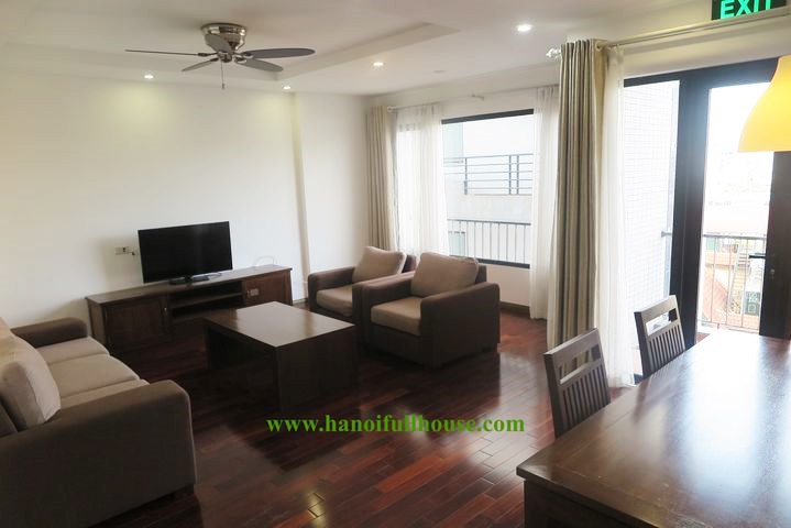 Spacious 2 bedrooms with balcony in To Ngoc Van for rent