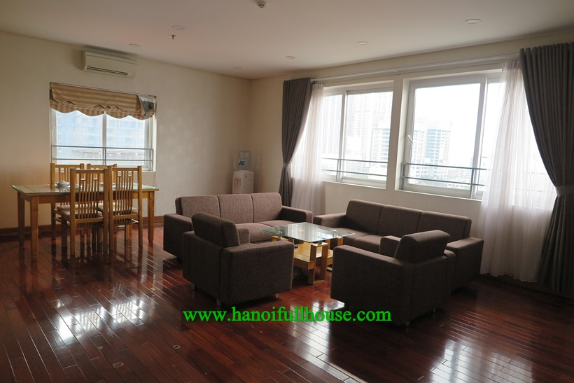 Nice Duplex apartment,full of light, with full service in Ba Dinh near Lotte center