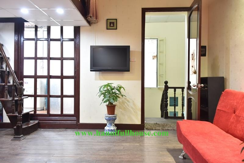 Cheap 01 bedroom house in old Quarter, Hanoi - Fully furnished for rent.