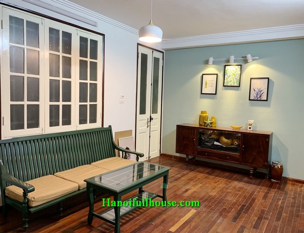 A cozy and lovely house with 40m2 x 2 floors in Hoan Kiem dist for lease