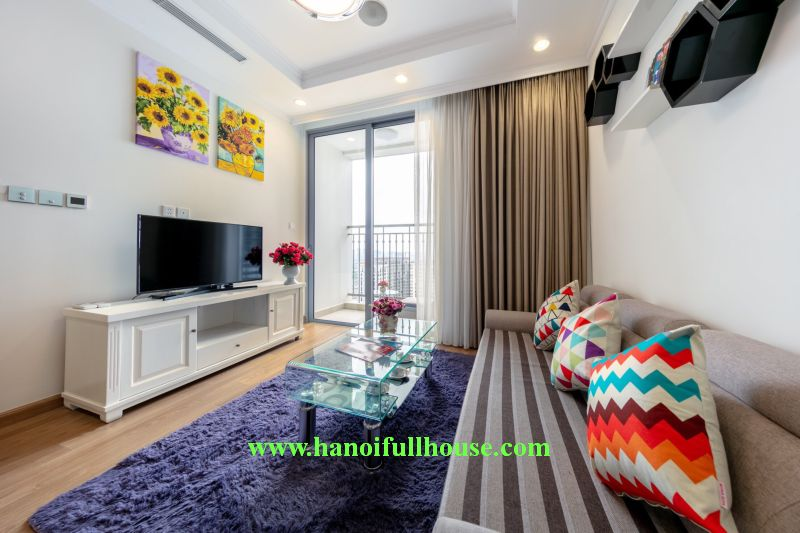 Apartment in Hai Ba Trung for rent, 2 bedrooms in P11 Park Hill - Times City 458 Minh Khai street.