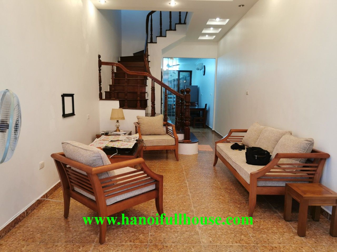 Private house in Quang An ward, close to the Intercontinental and Sheraton hotels for rent