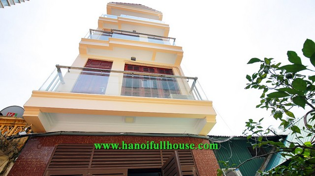 Great house on Dang Thai Mai with 4 bedrooms, 4 bathrooms, beautiful terrace for rent.