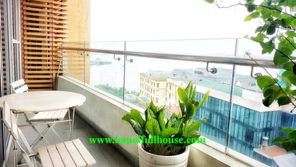 2 bedrooms apartment on WaterMark building - 395 Lac Long Quan, Tay Ho, Ha Noi