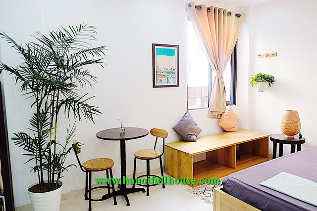 Lovely studio on Ba Trieu street for rent