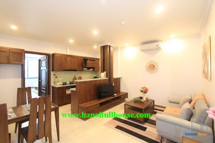 Brand new apartment in Tay Ho for rent, good furniture, profesional building.