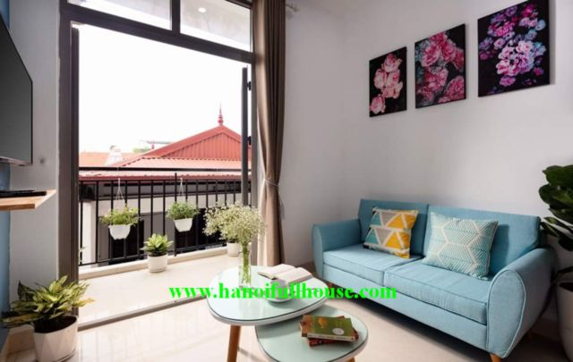 Only 500 USD for 2 bedrooms apartment with full of light, balcony in Tay Ho