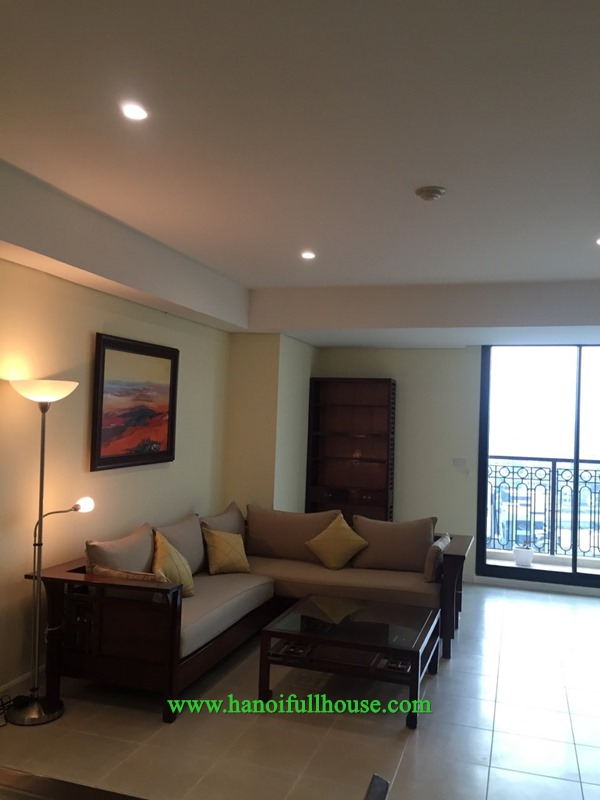 Two bedroom apartment in high-grade building - Pacific Place, Hoan Kiem dist for lease