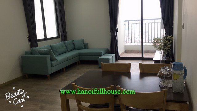 Ecolife Tay Ho - 3BR apartment with furnishing and equipment for rent
