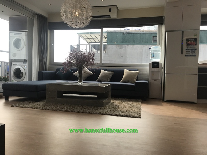 Luxury apartment with two bedrooms, modern kitchen, plenty of light in Tay Ho for rent